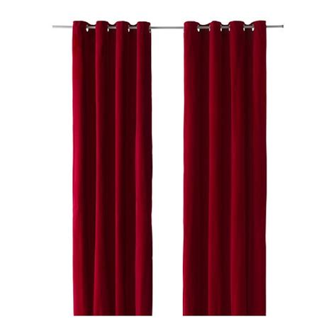 red curtains ikea pin by aja on king bedroom pinterest