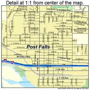 map of post post falls idaho map 1664810