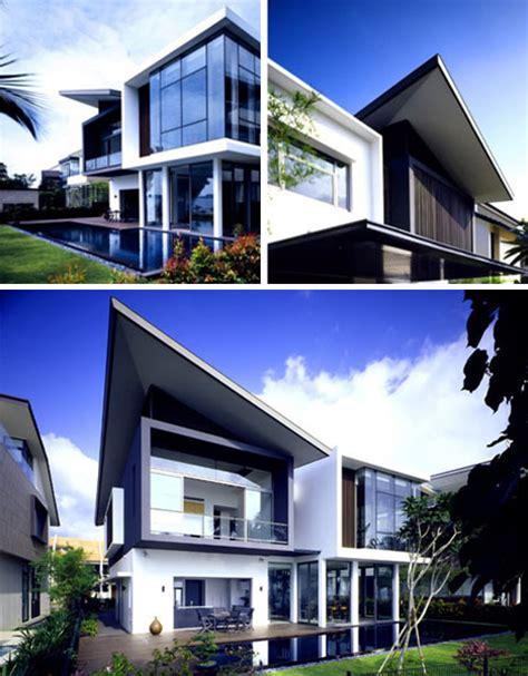 ultramodern house works despite small lot size