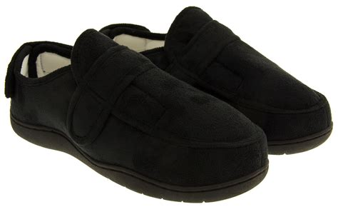 velcro slippers for mens velcro slippers adjustable memory foam slipper size 5