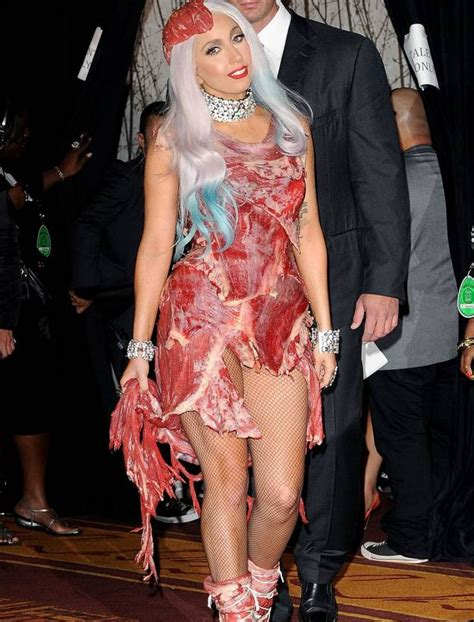 Dress Gaga after 5 years gaga s dress still exists and it looks metro news
