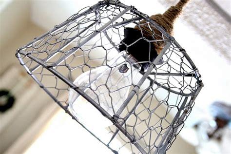 chicken wire light fixture chicken wire diy on pinterest chicken wire wire baskets