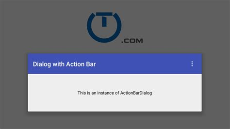 android a android bar in a dialog using toolbar truiton