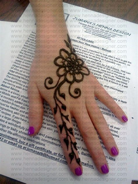 henna tattoo simple hand 41 best images about henna designs on