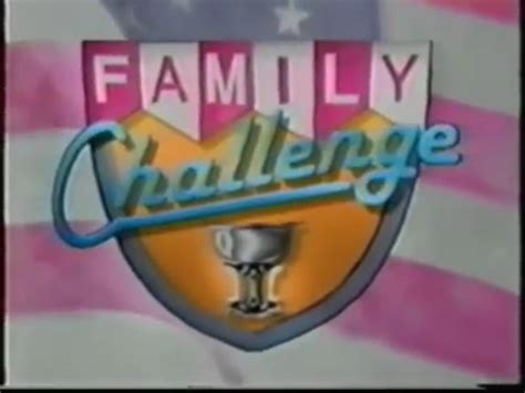 show challenges family challenge shows wiki fandom powered by wikia