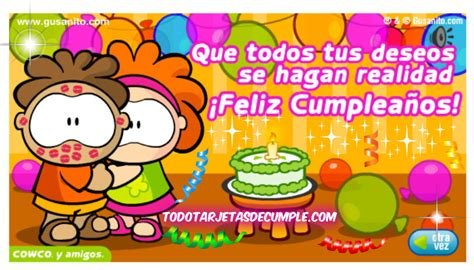 imagenes feliz cumpleaños lalo tarjeta de cumplea 195 177 os gratis