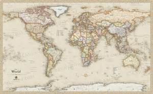 vintage maps world antique style map current map in vintage map style