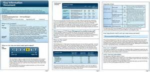 key information on packaged products european investors