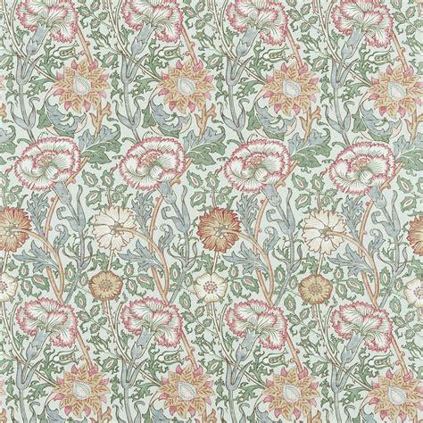 william morris upholstery fabric pink rose fabric eggshell rose 222532 william
