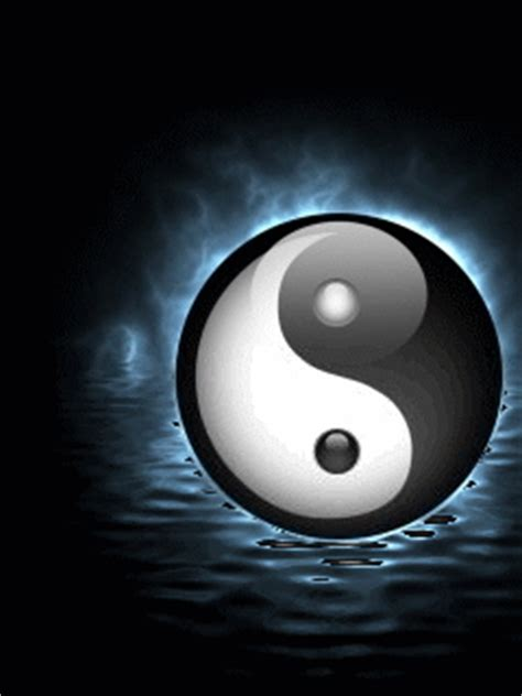 imagenes de yin yang en 3d animated gifs ying yang