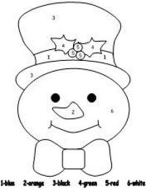 snowman coloring pages for preschool snowman color by number pages preschool items juxtapost