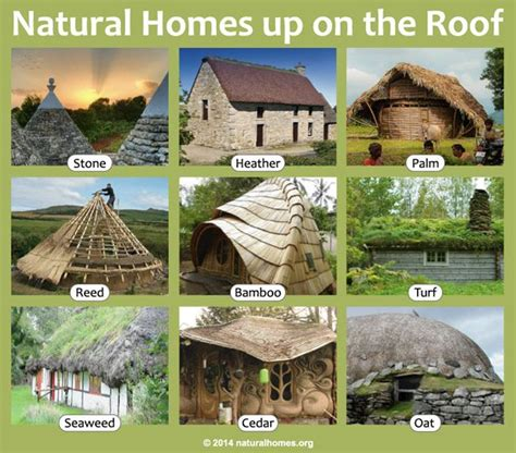 nature materials these homes all use different materials for their