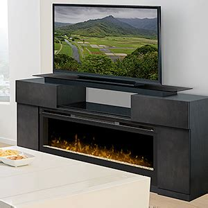 Electric Fireplace Tv Stand Canada by Electric Fireplace With Tv Media Consoles Entertainment