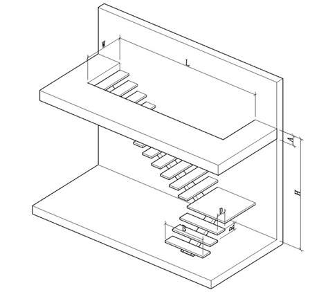 Interior Single Stringer Straight Steel Wood Tread Stair