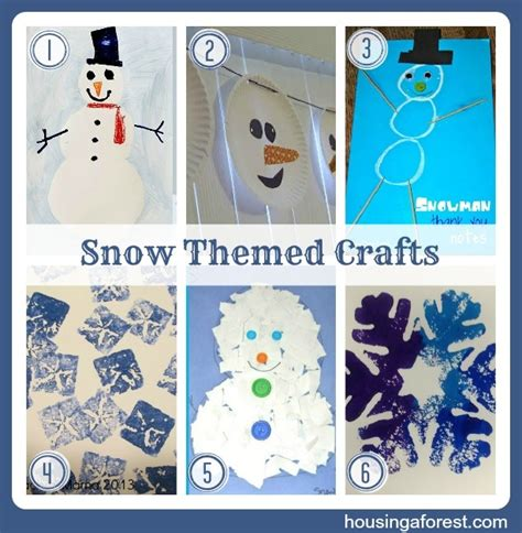 winter themed crafts for snow themed crafts weekly co op 9 crafts