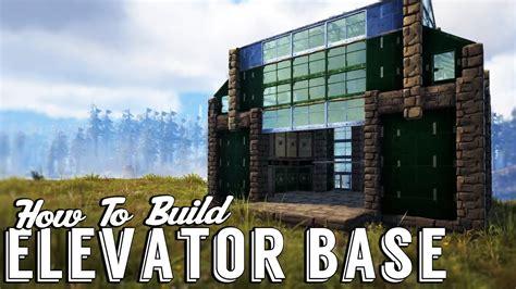 how to build a building ark elevator workshop build guide elevator base