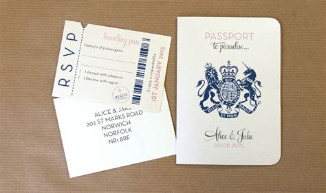 passport wedding invitation haskovo me
