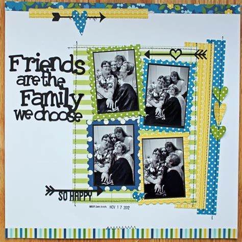 scrapbook layout for friends 155 best scrap birthday celebrations images on pinterest