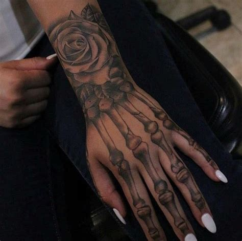 hand bone tattoo skeleton ideas i like this tattoos