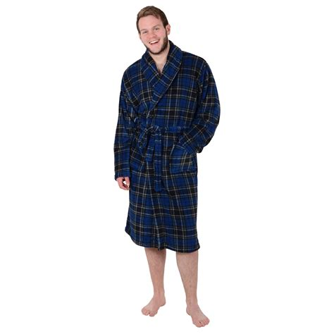 men s house robes ladies mens fleece bath robe dressing gown housecoat bathrobe a great gift ebay