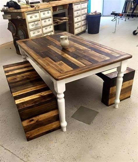 pallet wooden  furniture upcycle art
