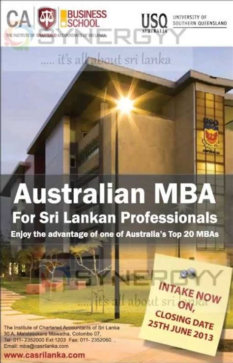 Southern Mba by Of Southern Land Mba In Srilanka Enrol