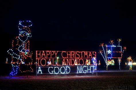 don strange ranch christmas lights san antonio spotlight christmas light fest at don strange