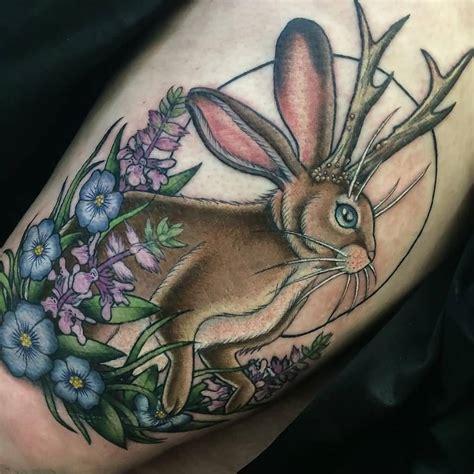 jackalope tattoo jackalope meaning