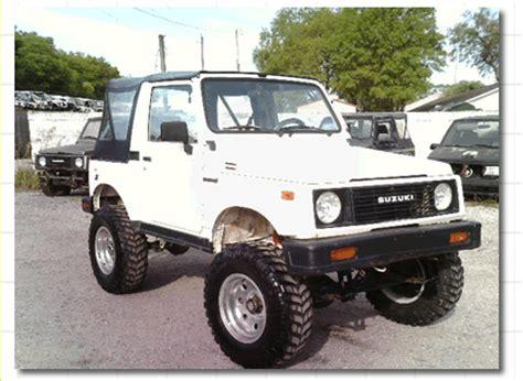 Suzuki V8 Repower Your Suzuki Samurai With A V6 Or V8 Engine