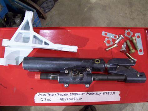volvo penta power steering ram kit assly hose bracket  volvo penta power steering ram