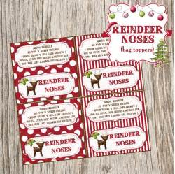 Pixels christmas reindeer christmas crafts nose bags bags toppers