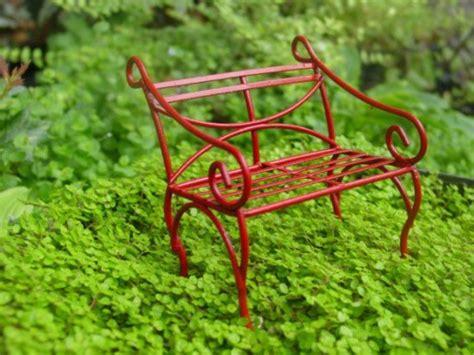 miniature garden bench 45 miniature garden decorations ultimate home ideas