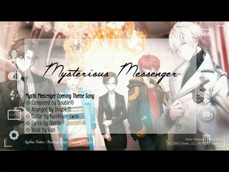 mystic messenger op english lyrics download dandelion wishes brought to you ending by hon