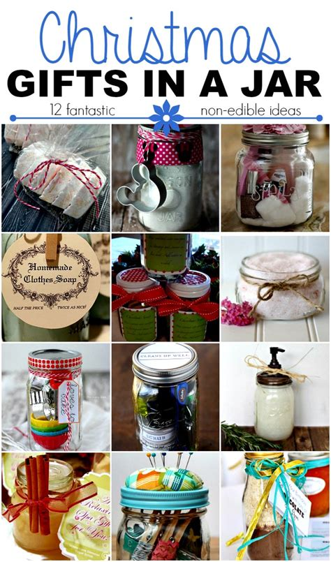 christmas gifts in a jar non edible ideas this girl s