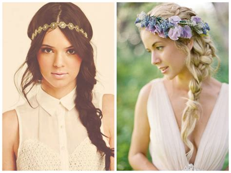 Hairstyles With Headband by Braided Boho Hairstyles Hairstyle For