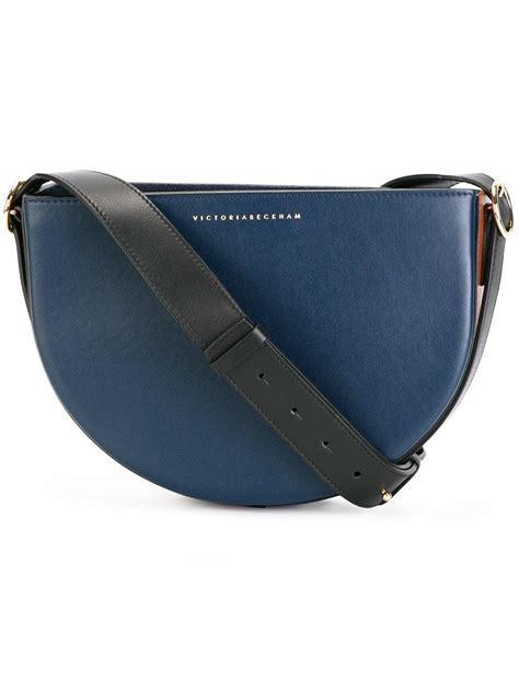 Bekham B532 Bag In Bag Kancing lyst beckham baby half moon shoulder bag in blue