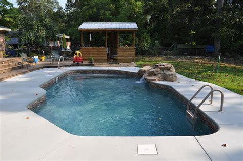 pool bench seat vinyl liner pools of eastern north carolina