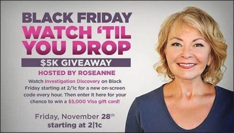 Id Discovery Giveaway - investigation discovery watch til you drop 5k giveaway sweepstakesbible