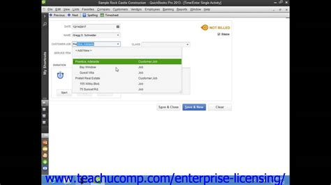tutorial on quickbooks 2013 intuit quickbooks tutorial 2013 time tracking 19 3
