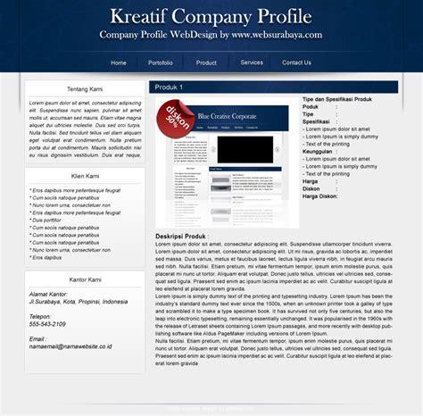 Company Profile Design Grafis | desain company profile contoh company profile yang baik