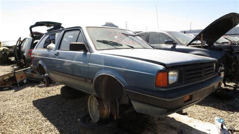 how make cars 1988 volkswagen fox on board diagnostic system junkyard find 1988 volkswagen fox station wagon