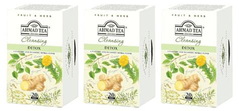 Ahmad Tea Detox Cleanse Reviews by Ahmad Tea Trendmonitor