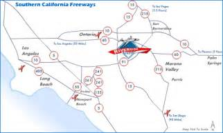 freeways in california map images