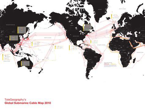 international submarine cable landing maps