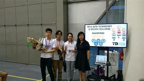 design competition singapore 2016 sutd technology design challenge 2016 singapore