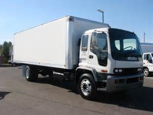 Used Isuzu Box Trucks For Sale Isuzu Ftr 2001 Isuzu Ftr Box Truck For Sale In