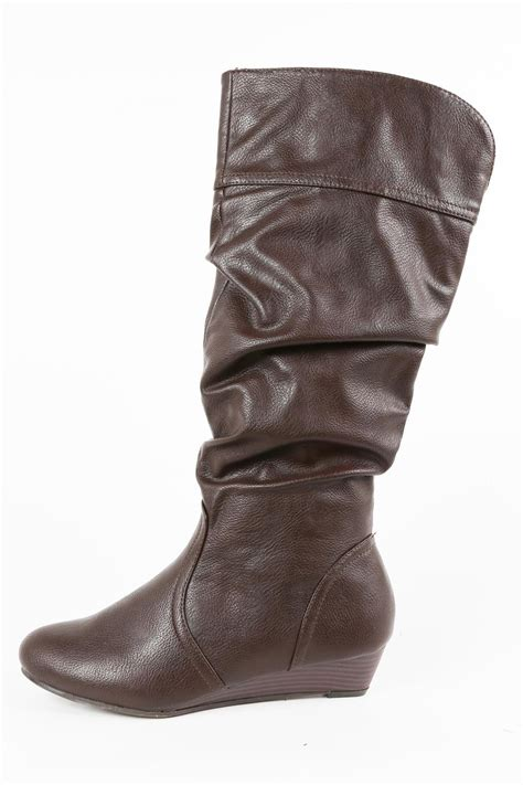 bamboo wedge boot from by the loft boutique