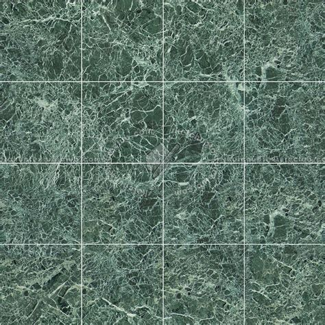 green floor tile