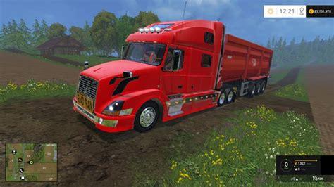 volvo truck vnl 780 fs 2015 volvo vnl 780 truck simulator mods