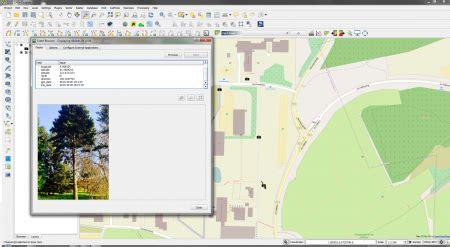 qgis evis tutorial display geotagged photos awf wiki